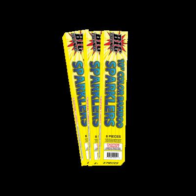 """10"""" BAMBOO GOLD SPARKLER BF5000"""