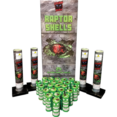 RAPTOR SHELLS 24 PACK