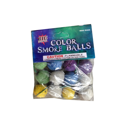 SMOKE BALLS COLOR CLAY 12 - PACK